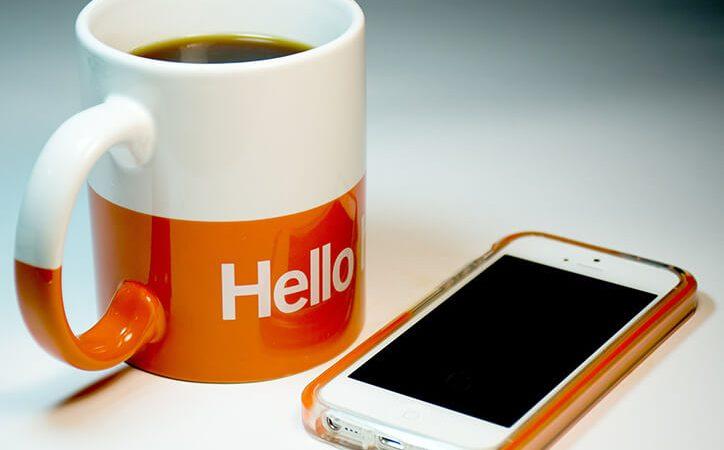 iPhone 7 Plus Orange Silicone Case