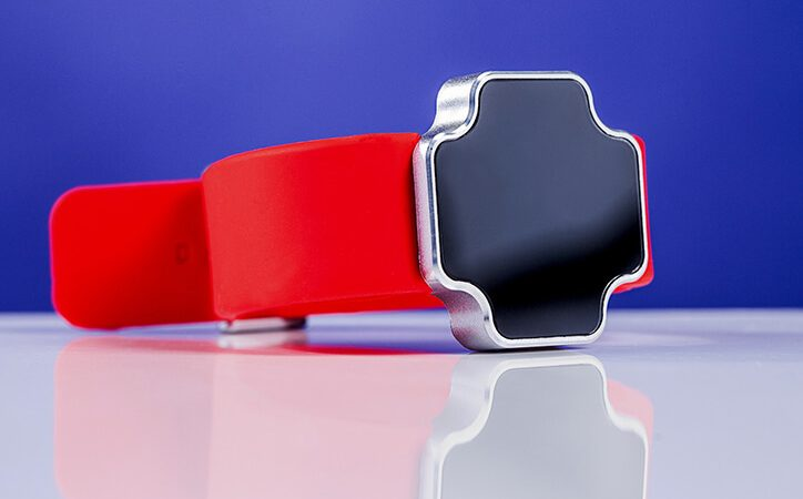 Pantheon Razer Watch with Silicone Belt