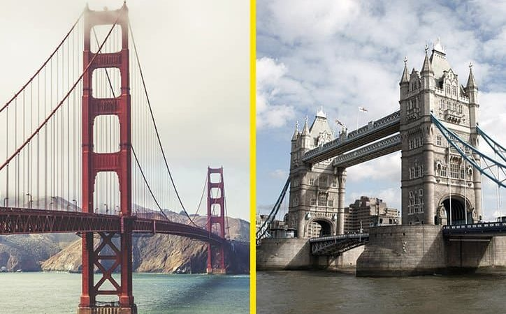 Trivia: Can you indentify the world's most famous bridges?